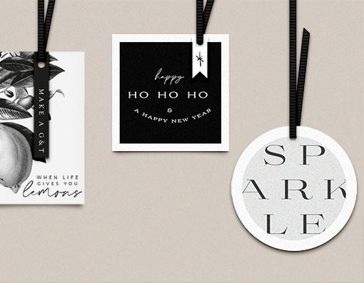 Modern Free Christmas Gift Tags