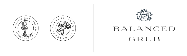 Food Blog Logo Design