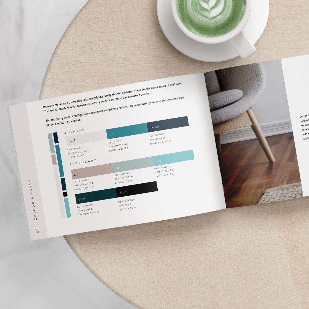 health clinic brand guidelines