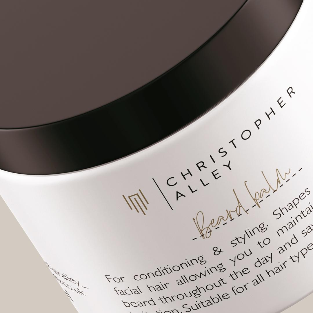 Beard Balm packaging design | Kate Male Brand Designer