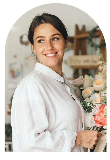 Florist business owner